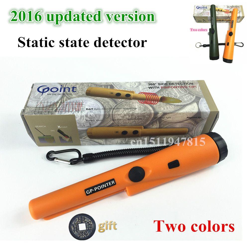 2018 NOUVELLE imprimer Pinpointing détecteur de métaux GP-pointeur Garrett pro même style Statique état or détecteur de métal livraison gratuite