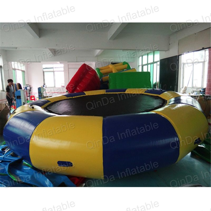 5m trampolin Pool float toy water inflatable trampolines inflatable water platform inflatable bouncer floating water park