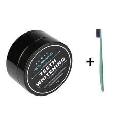Blanqueadores de dientes Polvos de maquillaje natural orgánico activado carbón de bambú Pasta de dientes ELIMINACIÓN DE tártaro manchas de café para dropshipping
