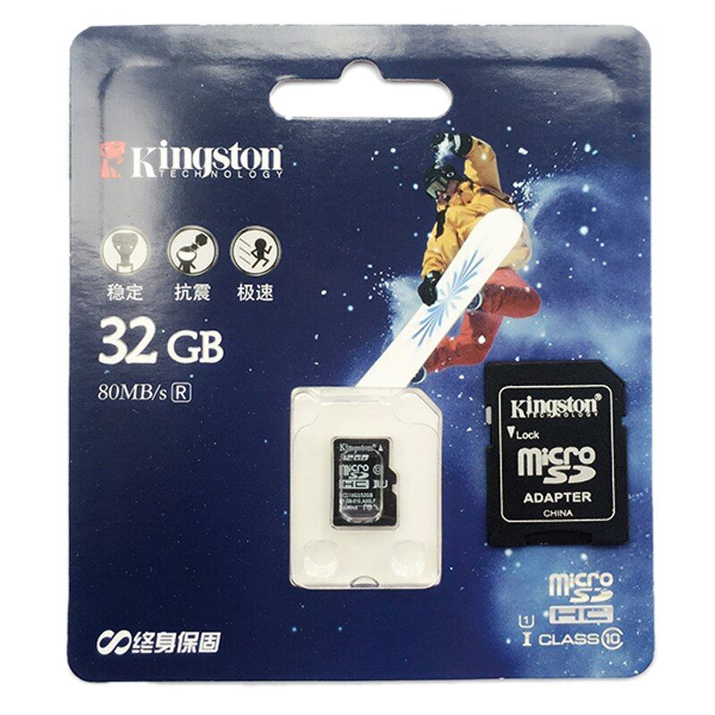Kingston micro sd card Class 10 32gb 64gb memory card 16gb microsd tarjeta micro sd flash 128gb tf SDHC card brand Presented