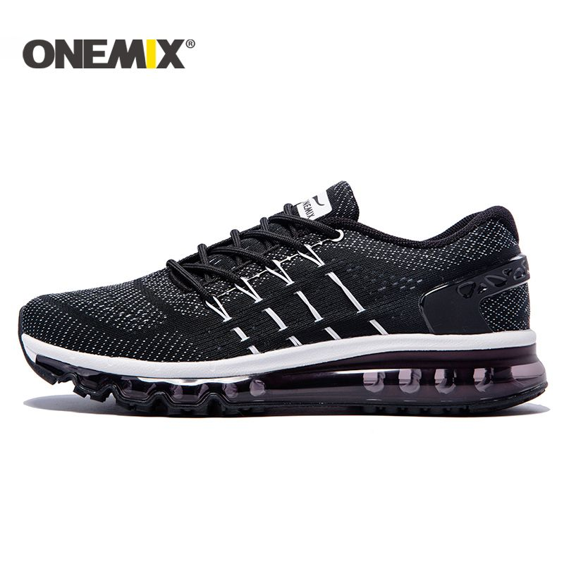 ONEMIX 2017 Cushion Men Running Shoes Breathable Runner Athletic Sneakers Men Outdoor Sports Walking Shoes for men free shipping