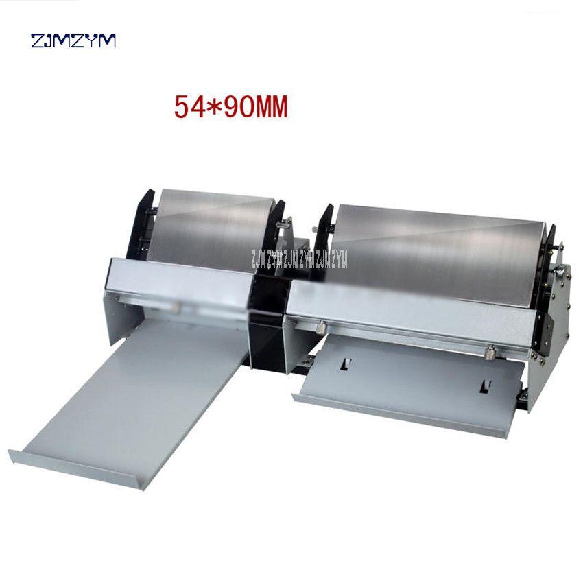 A4 Size Automatic Business Card Cutter 100gsm-300gsm Electric Name Card-Cut machine Die Cutter Card Paper Slitting/cutting XD-A4