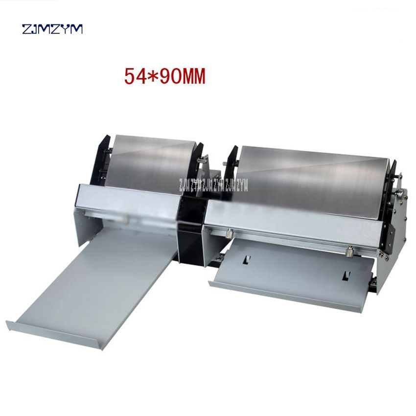 A4 Size Automatic Business Card Cutter 100gsm-300gsm Electric Name Card-Cut machine Die Cutter Card Paper Slitting/cutting XD-A4
