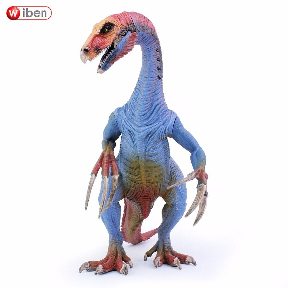 Wiben Jurassic Therizinosaurus Dinosaur toy Action Figure Animal Model Collection Learning & Educational Kids Christmas Gift