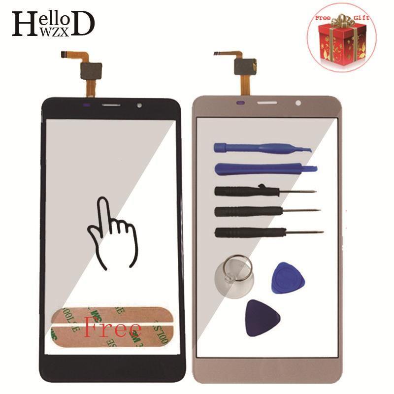 5.7 pouce Mobile Téléphone Écran Tactile Pour Leagoo M8/M8 Pro Écran Tactile En Verre Digitizer Panneau Lentille Capteur Verre Adhésif cadeau