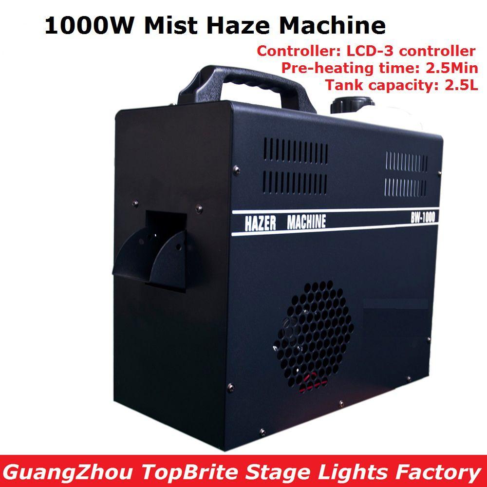 1000W Mist Haze Machine 2.5L Tank Capacity Fog Machine With DMX512 Control DJ/Party/KTV/Disco Lights Led Stage Machine Fogger