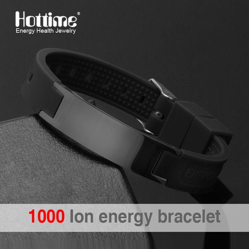 Power Energy Bracelets Équilibre Ion Magnetic Therapy Mode Silicone Groupes Bracelets Thérapie Corps Garder Votre Healty Douleur de Guérison