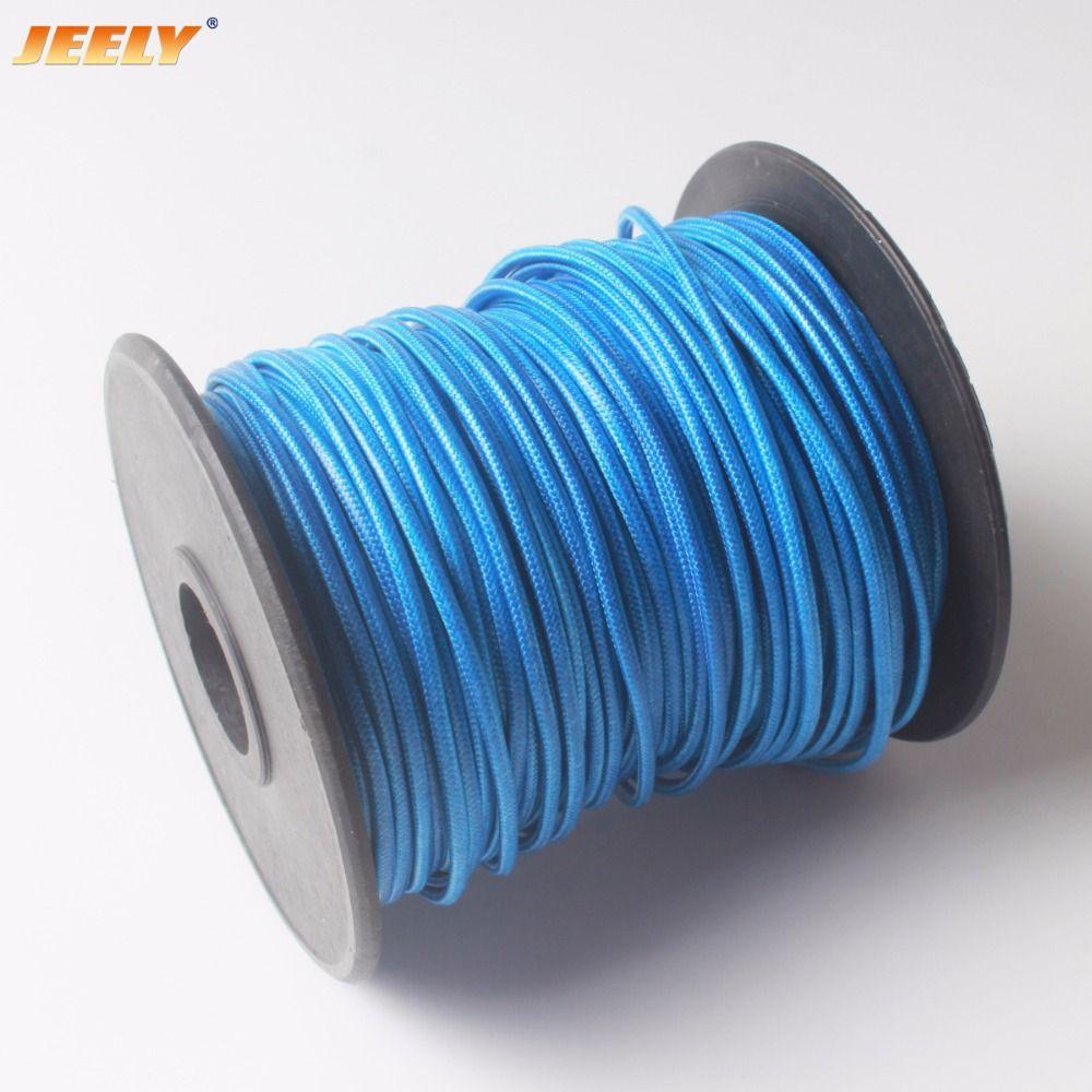 JEELY 463LBS 1.5mm hollow braid kitesurfing kitelines 8 strands 50M Spectra WINCH LINE