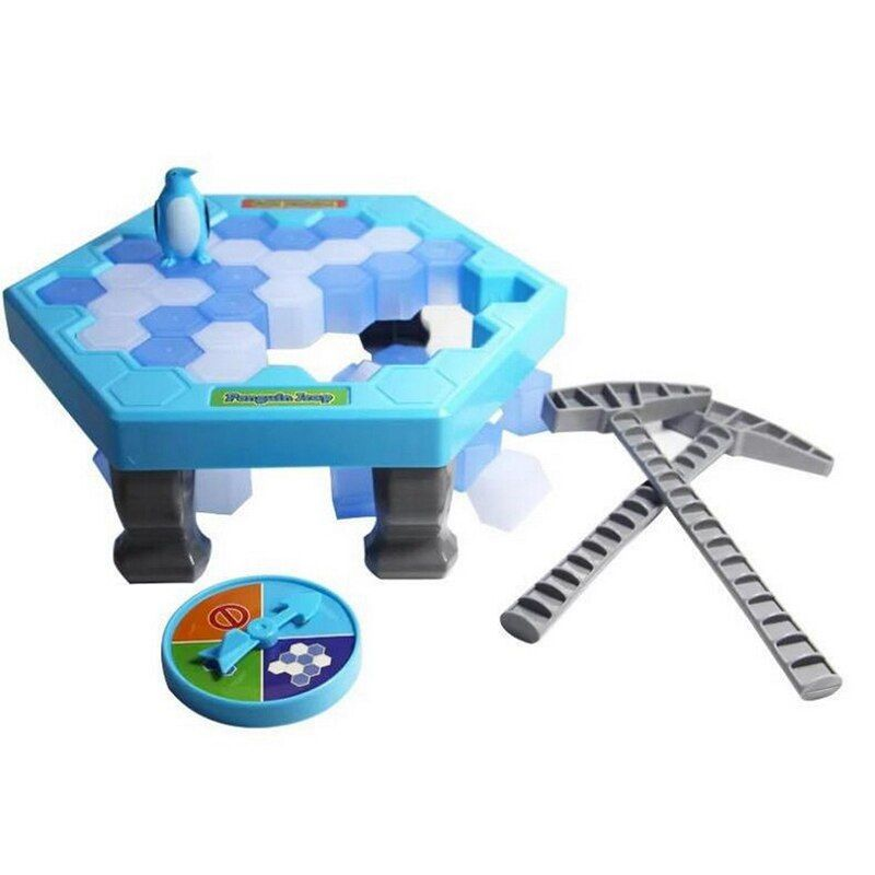 Penguin Trap Activate Funny Game Interactive Ice Breaking Table Penguin Trap Entertainment Toy for Kids Family Fun Game