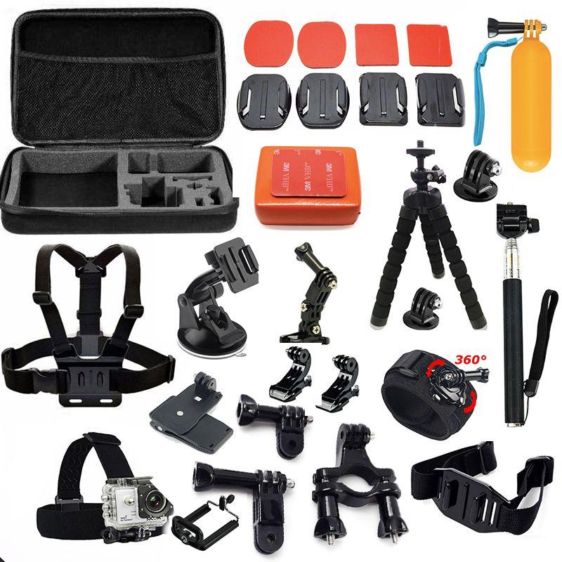 Tekcam for sjcam m20 accessories mount for SJCAM SJ4000 SJ5000 SJ6 Legend xiaomi yi 2 4k sj7 star yi 4k+ eken h9 soocoo c30r