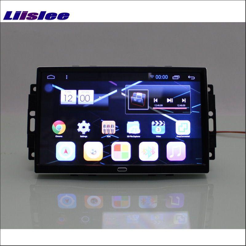 Liislee для Jeep Commander/Компасы 2006 ~ 2008 Android 6.0 навигации Радио стерео 10.2