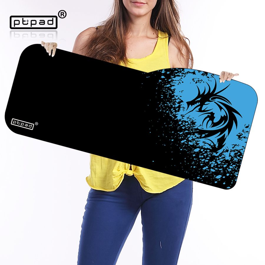 pbpad Large mouse pad 730*330mm speed Keyboard Mat mousepad Gaming mouse pad <font><b>Desk</b></font> Mat for game player Desktop PC Computer Laptop