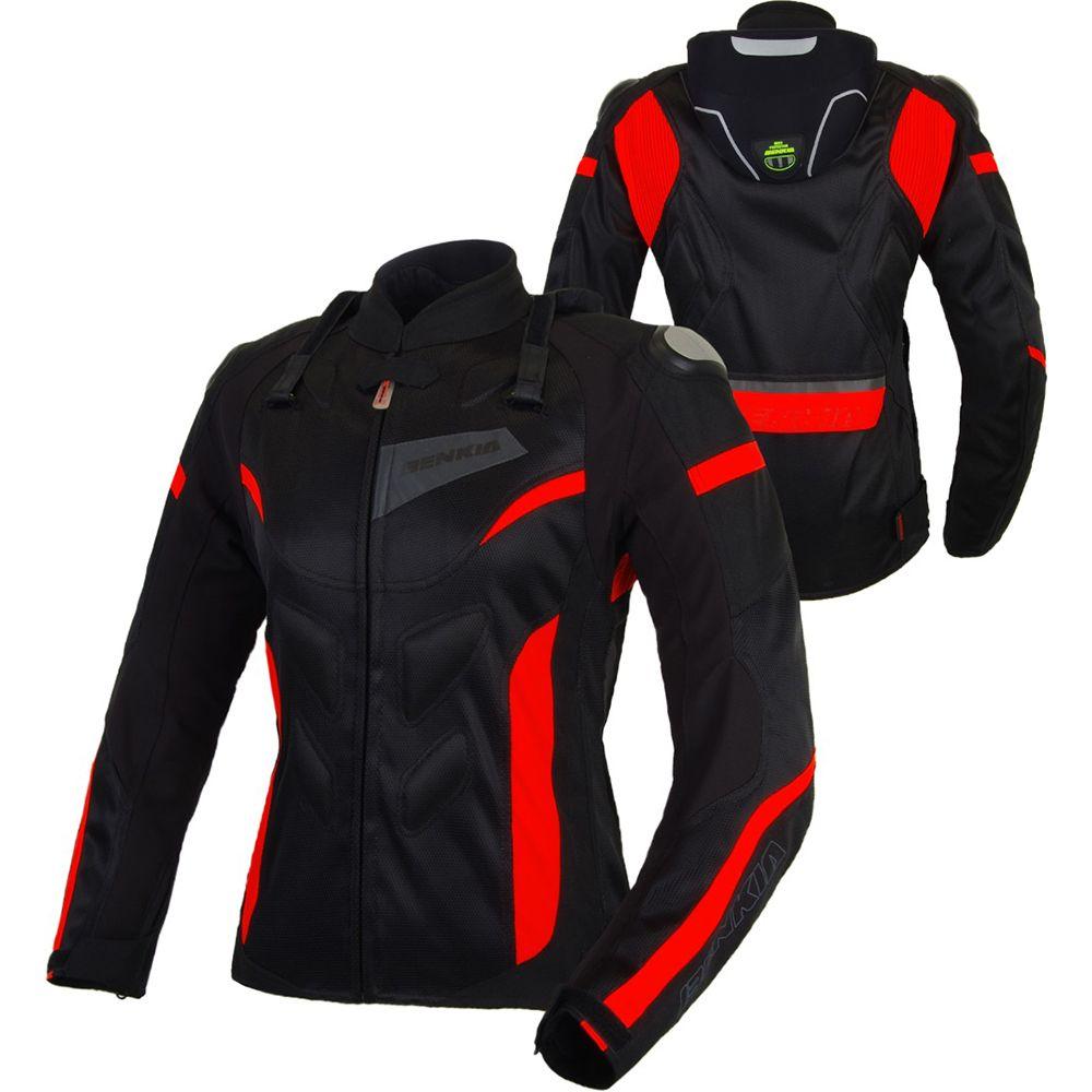BENKIA Motorcycle Jackets Women Motocross Jacket Protective Gear Racing Breathable Windproof Moto Jacket For Spring Summer