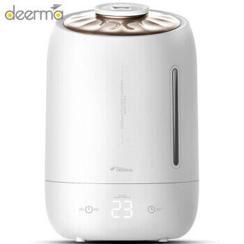 Deerma Electric Bedroom Aromatherapy Humidifier 5L Large Touch Temperature Sensitive Home Mute Mini Office Humidifying Machine