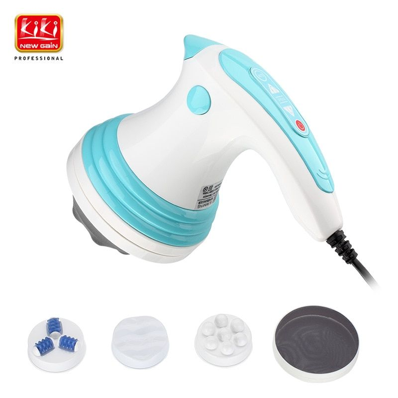 KIKI newgain Munti-function <font><b>body</b></font> massager ELECTRIC SLIMMING MASSAGER Vibration Slimming machine High frequency vibration