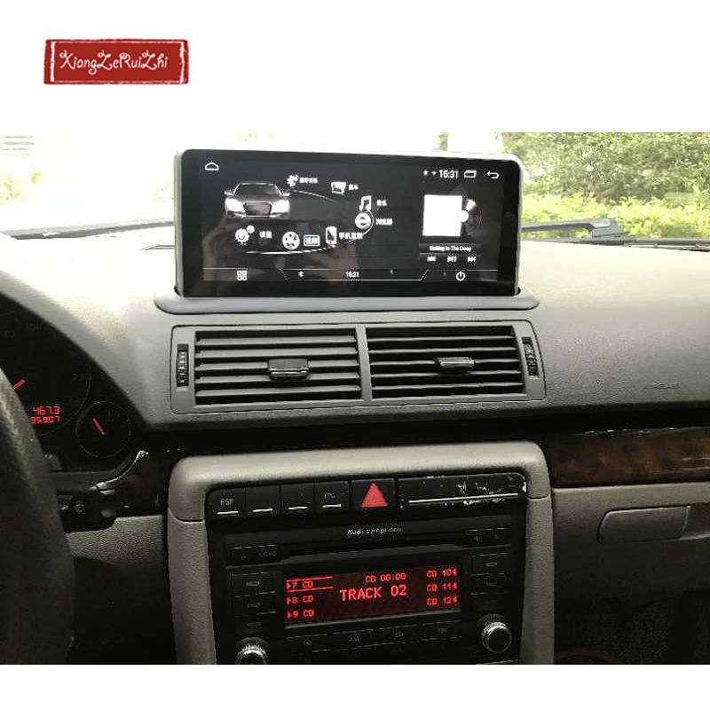 10,25 inch Android auto GPS dvd auto radio-navigation Für AUDI A4 (2001-2009) mit radio/video/USB/WIFI 2 din