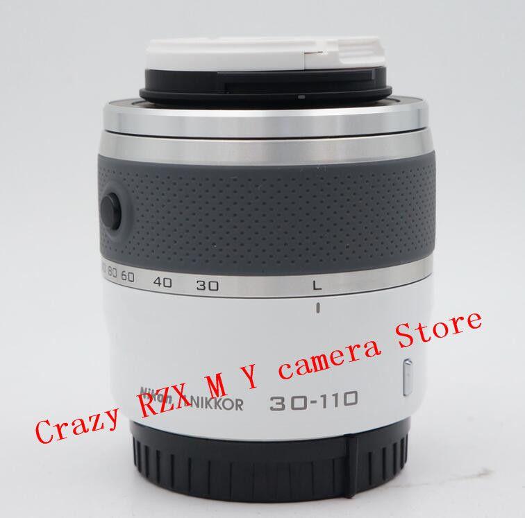 Für Nikon 1 30-110mm Zoom objektiv V1 V2 V3 J1 J2 J3 J4 J5 30-110 VR 30-110mm f/3,8-5,6 spiegellose kamera objektiv (Second-Hand)