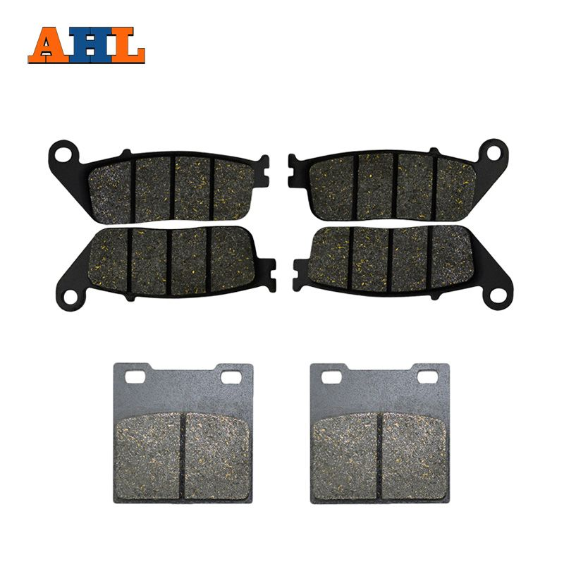 AHL Motorcycle Front & Rear Brake Pads For Suzuki F+R GSX400 (94-96) GSF600 Bandit (95-99) RF 400 RF 600 (93-97)