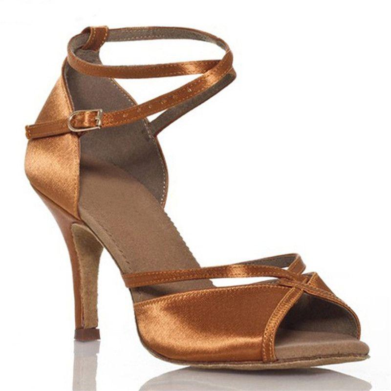 Women's Latin Dance Shoes Zapatos De Baile Ballroom Shoes Woman Quality Wide <font><b>Width</b></font> Salsa Zapatos de Baile Latino Mujer