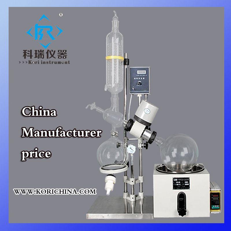 5L Glas Vakuum Heizung Rotovap für pharmazeutische verarbeitung Labor kristallisator ausrüstung