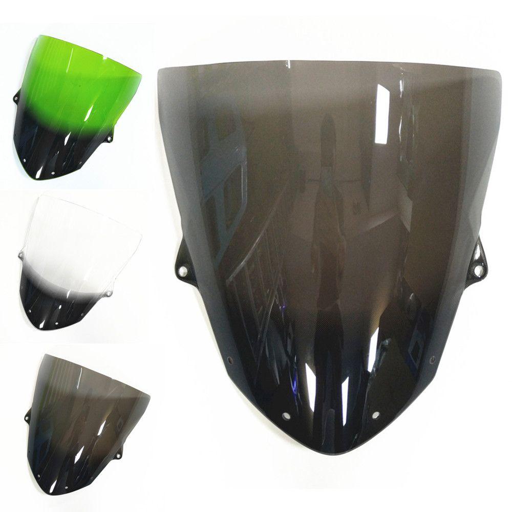 For Kawasaki ZX6R 2009 2010 ZX10R 2008 2009 2010 Windscreens Windshield Wind Deflectore ZX 6R 09-10 ZX 10R 08-10 spoiler