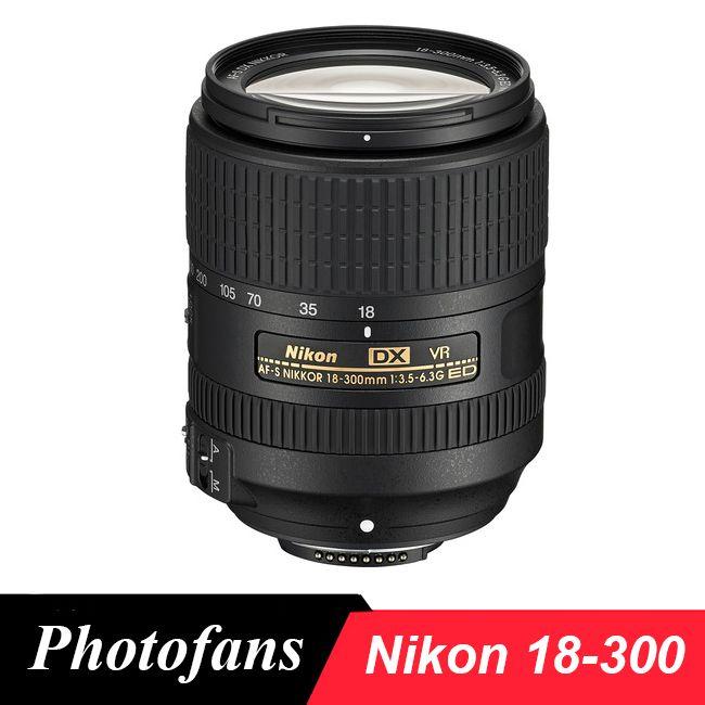 Nikon 18-300 lens Nikkor AF-S DX 18-300mm f/3.5-6.3G ED VR Lenses for D3400 D3200 D3300 D5500 D5200 D5300 D5600 D7200 D7100 D500
