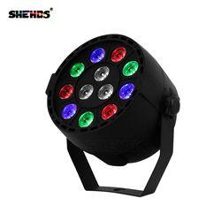 LED الاسمية 12x3 W RGBW LED المرحلة ضوء مصباح موازي المستوى مع DMX512 للديسكو DJ العارض آلة حزب الديكور SHEHDS المرحلة الإضاءة