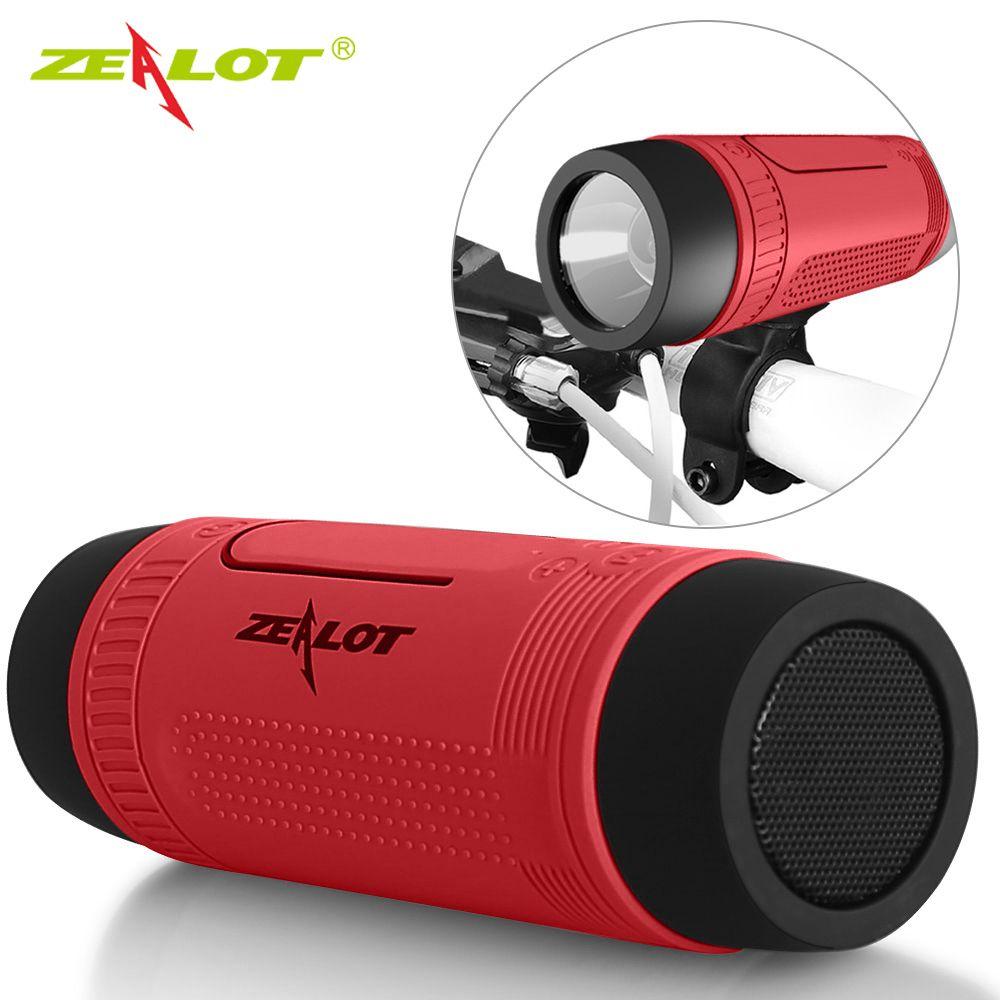 Zélot S1 Bluetooth haut-parleur extérieur vélo Portable caisson de basses haut-parleurs Home cinéma partie haut-parleur son système stéréo 3D