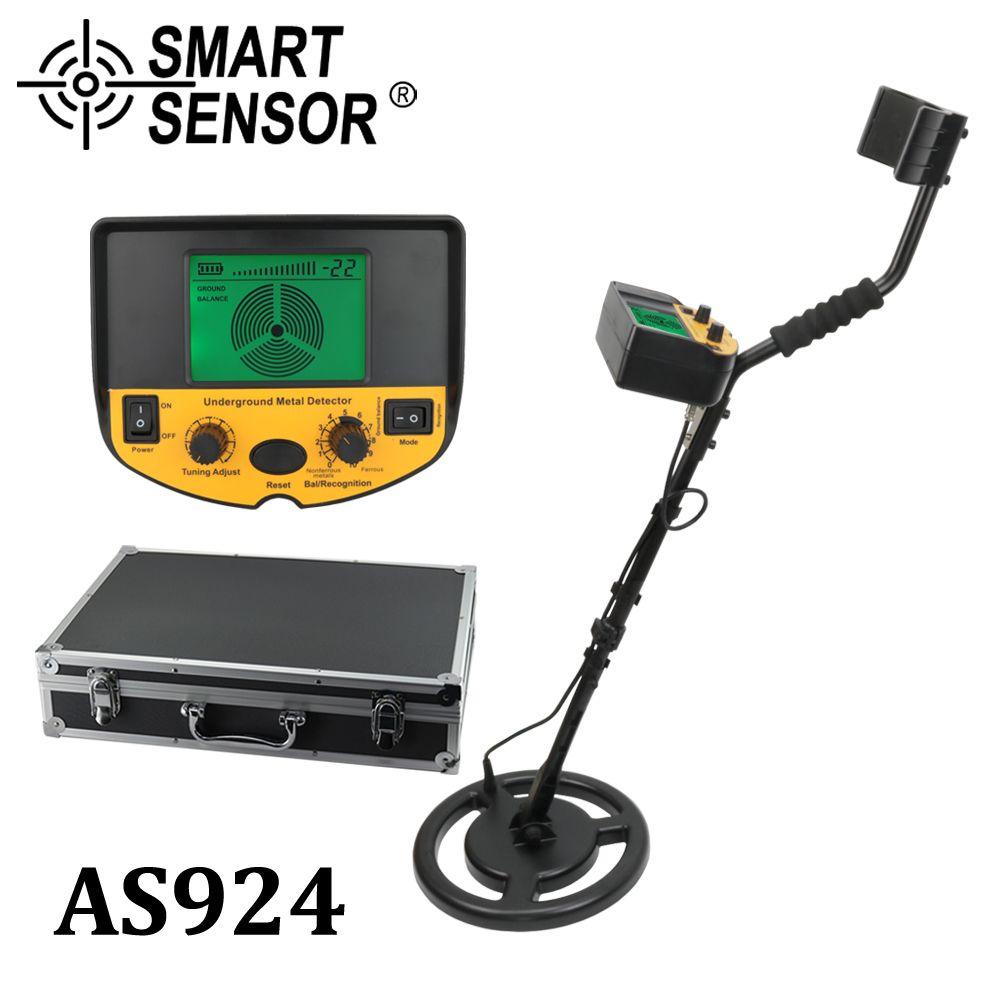 metal detector underground, garrett metal detector Gold Digger Treasure Hunter pinpointer detector depth 2.5m Smart Sensor AS924