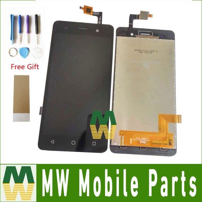 1 PC/Lot Pour BQ BQS-5020 BQS 5020 grève LCD Display + Écran Tactile Assembler Remplacement Noir Couleur avec outils + bande