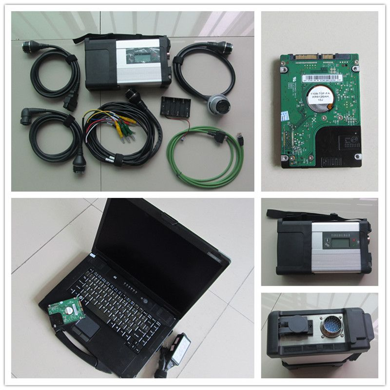 Super cf 52 Laptop + MB STAR C5 SD CONNECT WiFi Diagnosis Tool + V2018.03 Newest Software D-as Star C5 Ready To Use