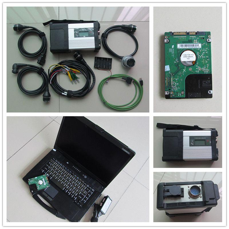 Super cf 52 Laptop + MB STERNE C5 SD SCHLIEßEN WiFi diagnose-Tool + V2018.03 Neueste Software D-Sterne C5 Bereit, verwenden