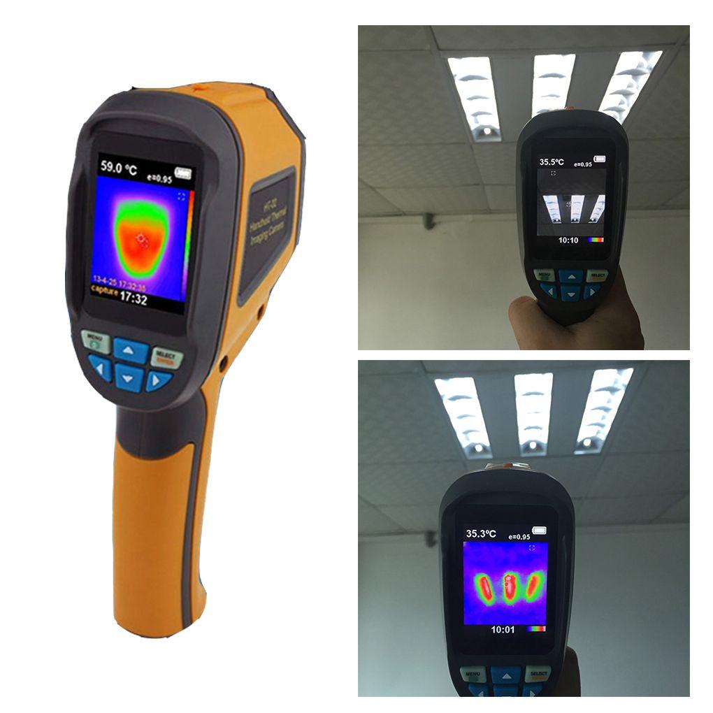 HT-02D Handheld IR Wärmebildkamera Digitalanzeige 1024 P 32x32 Infrarot Bildauflösung Wärmebildkamera