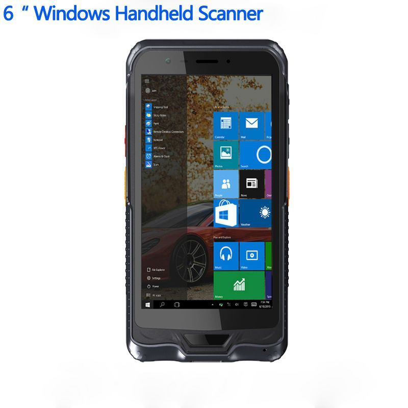 Original Kcosit K62H 6 Handterminal PDA Windows 10 Robusten Tablet PC Wasserdicht handy GPS 2D Laser Barcode-scanner