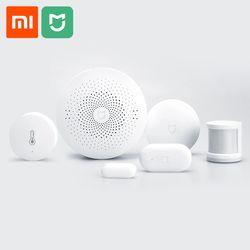 Xiaomi Mijia Smart Domotique Multifonction Passerelle Porte Fenêtre Corps Humain Capteur Tem Capteur D'humidité Sans Fil Commutateur