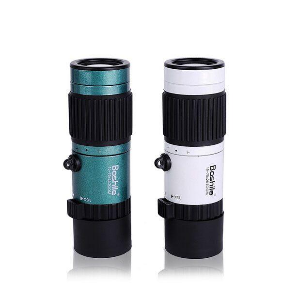 Jumelles de voyage d'origine Boshile 15-75x25 HD Zoom Flexible Mini télescope monoculaire haute puissance pour le Camping livraison gratuite