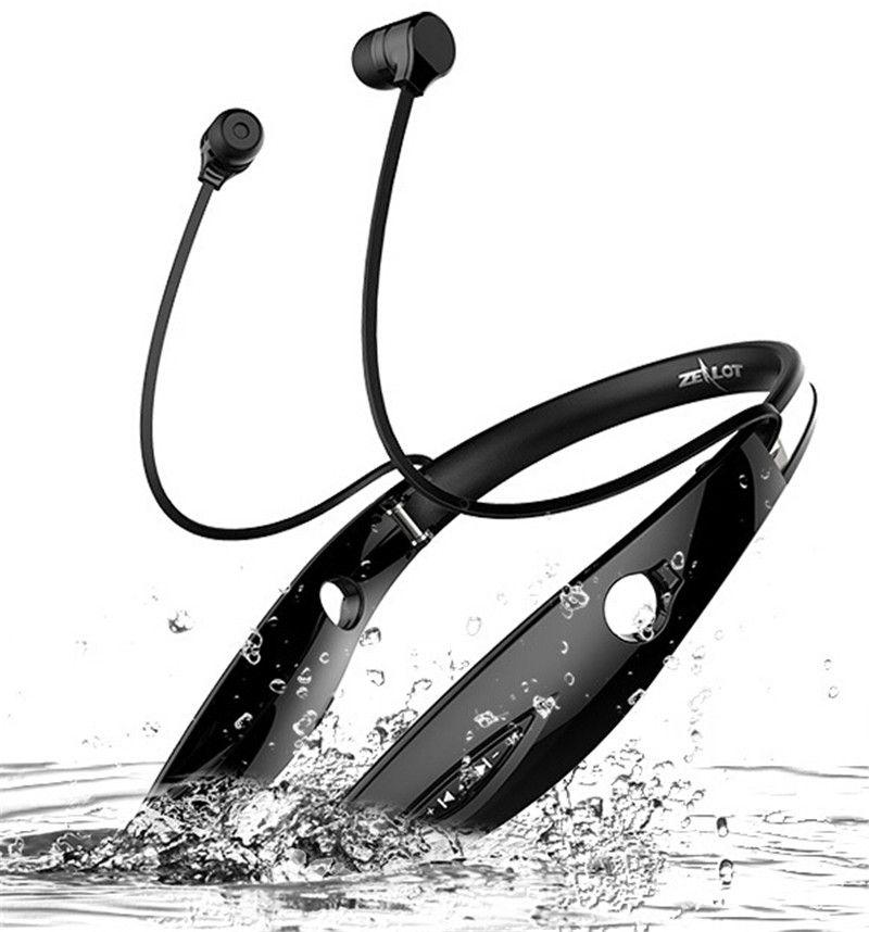 Zealot H1 Bluetooth Casque sans fil écouteurs Bluetooth Eeabuds Stéréo Casque In-Ear Mains Libres Écouteurs De Sport Avec Micro