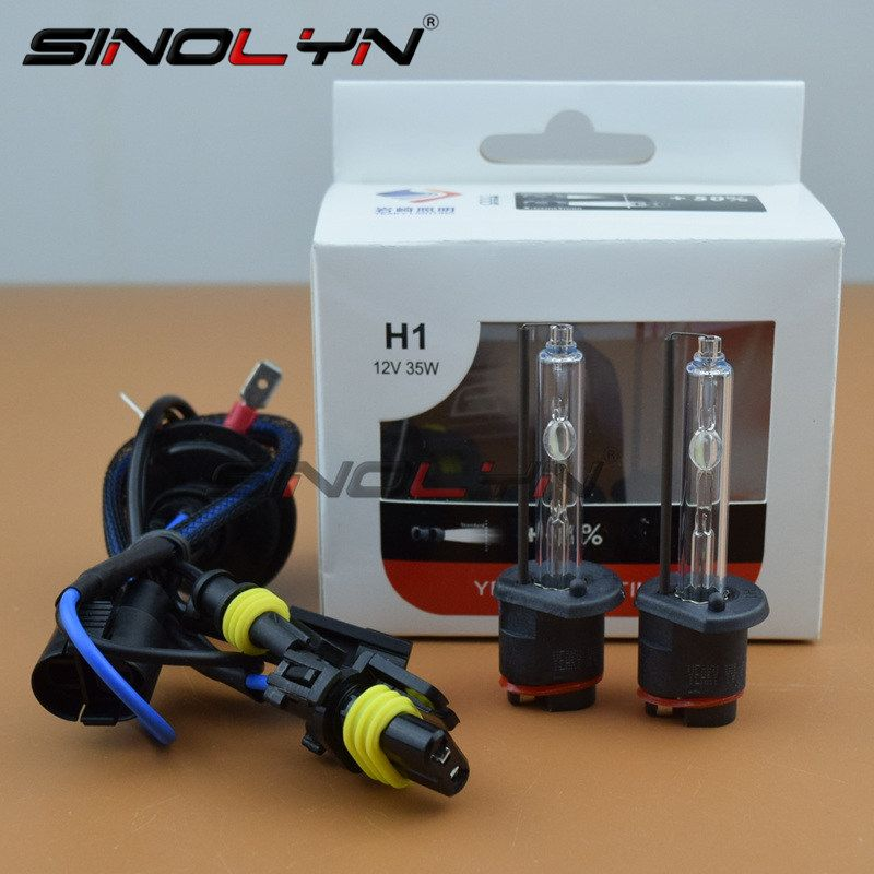Premium AC 35W H1 H3 H7 9005 9006 H11 D2S Yeaky HID Xenon Head Lamp Headlight Replacement Bulbs 4500K 5500K 6500K Top Quality
