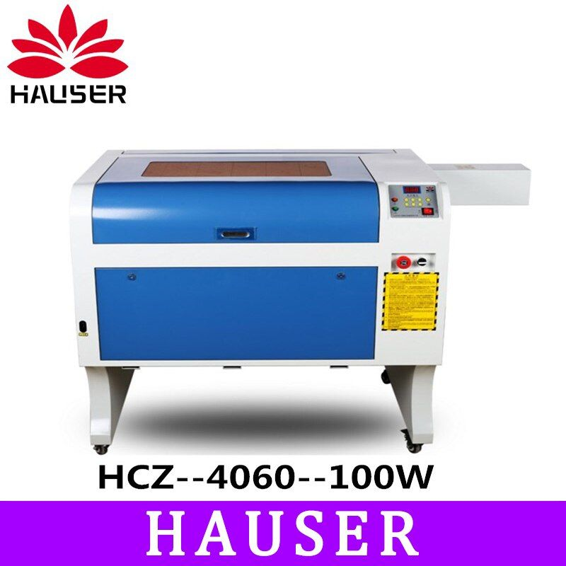 Free Shipping HCZ 100w co2 laser CNC 4060 laser engraving cutter machine laser marking mini laser engraver cnc router diy