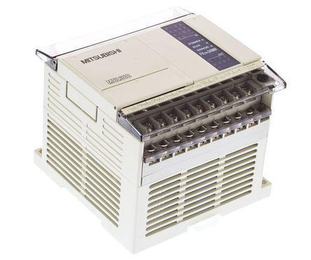 FX1N-24MR-ES/UL FX1N PLC CPU Relaisausgang Computer-schnittstelle, 8000 schritte Programm Kapazität, 24 I/O-ports