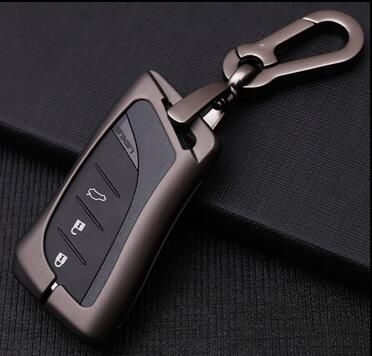Auto Galvanzed Legierung Keychain Abdeckung Shell Halter Fall Für Lexus 2018 UX260 200 ES300h ES350 ES200 ES260 LS350 LS500h Auto -Styling