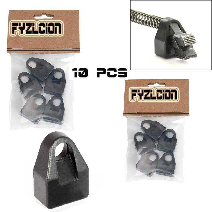 Fyzlcion 10 stücke Recoil Puffer 7,62x39 Puffer Pad Schock Absorbieren Polymer Reduktion passt Taktische AK74