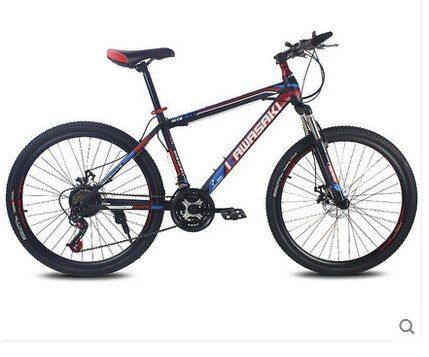 mountain bike 21speed 26 inch student bicycle double disc bicicleta high quality tire complete bike suspension bicycle