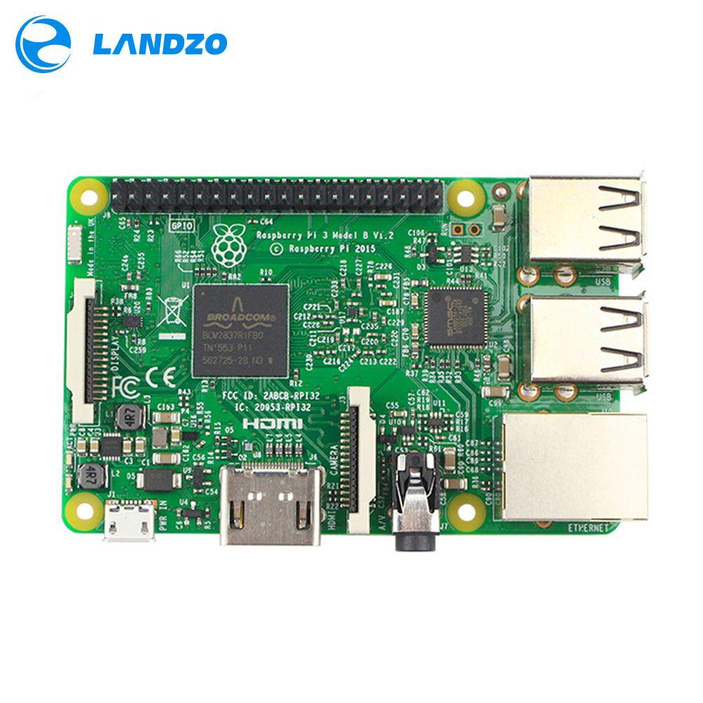 Raspberry Pi 3 Model B Motherboard 1GB LPDDR2 BCM2837 Quad-Core Ras PI3 B,PI 3B,PI 3 B with WiFi&Bluetooth