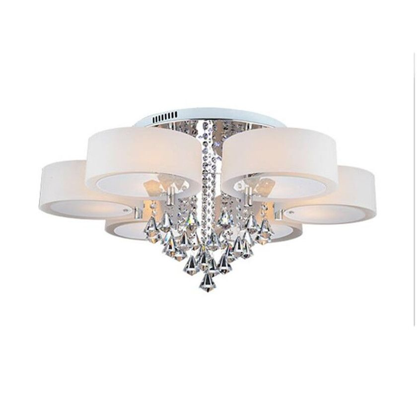 Led Chandeliers Ceiling Lamp Modern Crystal Lustre Plafond Abajur luminaria de teto for Living Room Ceiling Lighting Fixtures