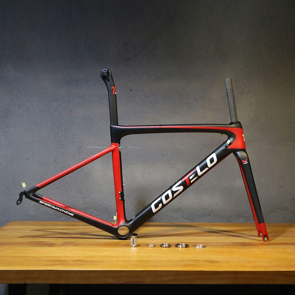 2018 neue Costelo Speedmachine 3,0 ultra licht volle carbon faser rennrad rahmen Costelo billig rahmen fahrrad bicicleta rahmen