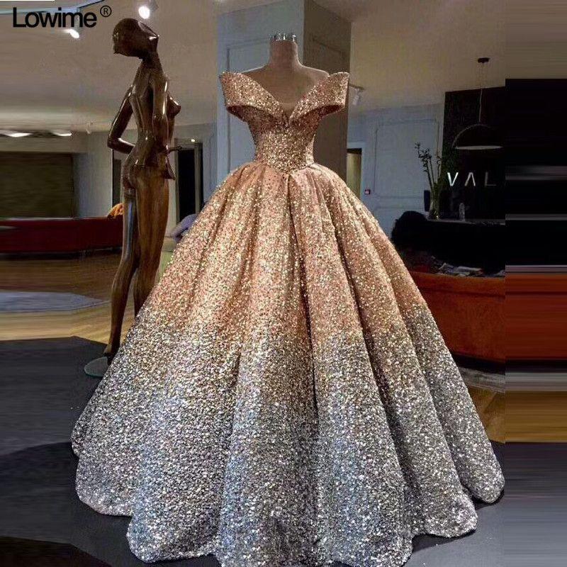 Sexy Elie Saab Long Arabic Bling Bling Formal Evening Dress Abiye Dubai Turkish Gowns Dresses Abendkleider 2018
