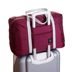 Travel Bag Large Capacity Men Hand Luggage Travel Duffle Bags Nylon Weekend Bags Multifunctional Women Travel Bags 4 Colors