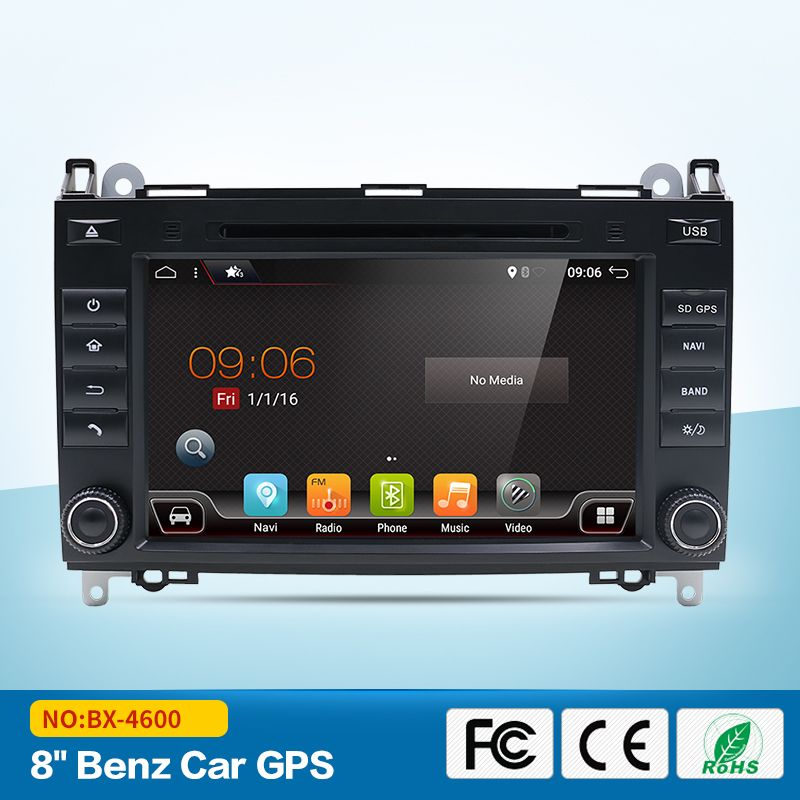 Bosion 2din Car Radio DVD Player for Benz B200 Sprinter Viano Android 7.1 Quad Core USB GPS Navigation Bluetooth WIFI Multimedia