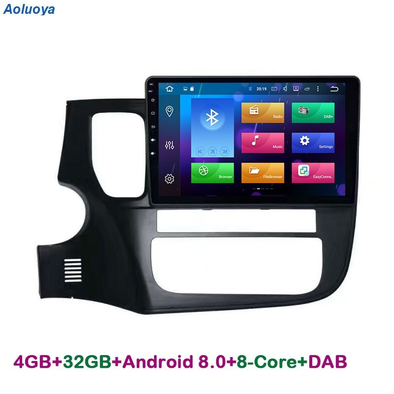 Aoluoya RAM 4G Octa-core Android 8.0 AUTO DVD PLAYER GPS Navigation Für Mitsubishi Outlander 2013 2014 2015 2016 Audio multimedia